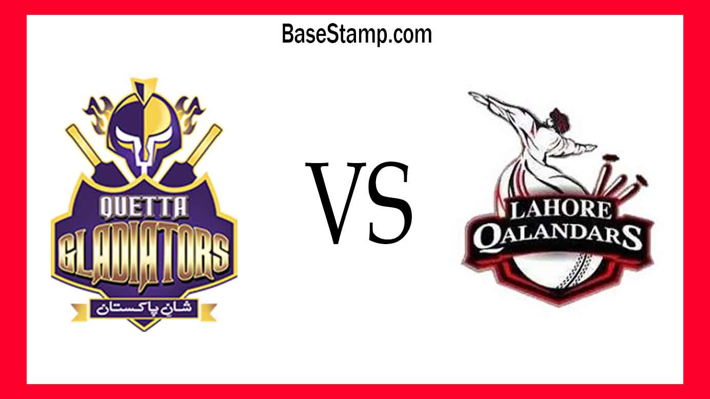 Lahore Qalandars vs. Quetta Gladiators Prediction Live Score, Head To Head, Toss