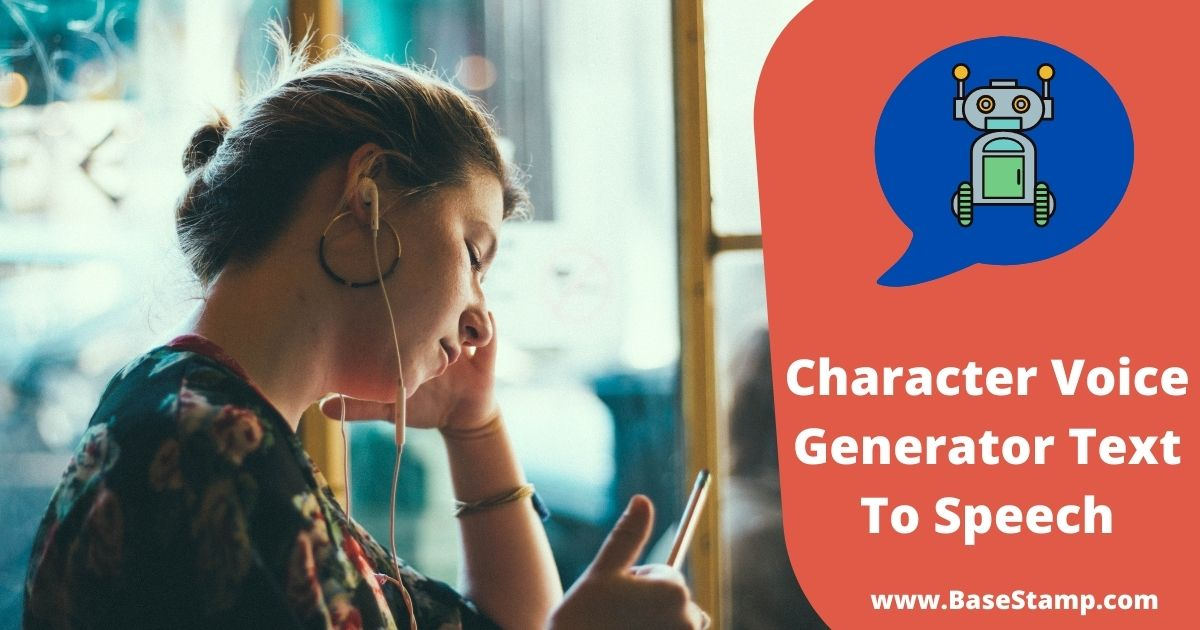 Character Voice Generator Text To Speech