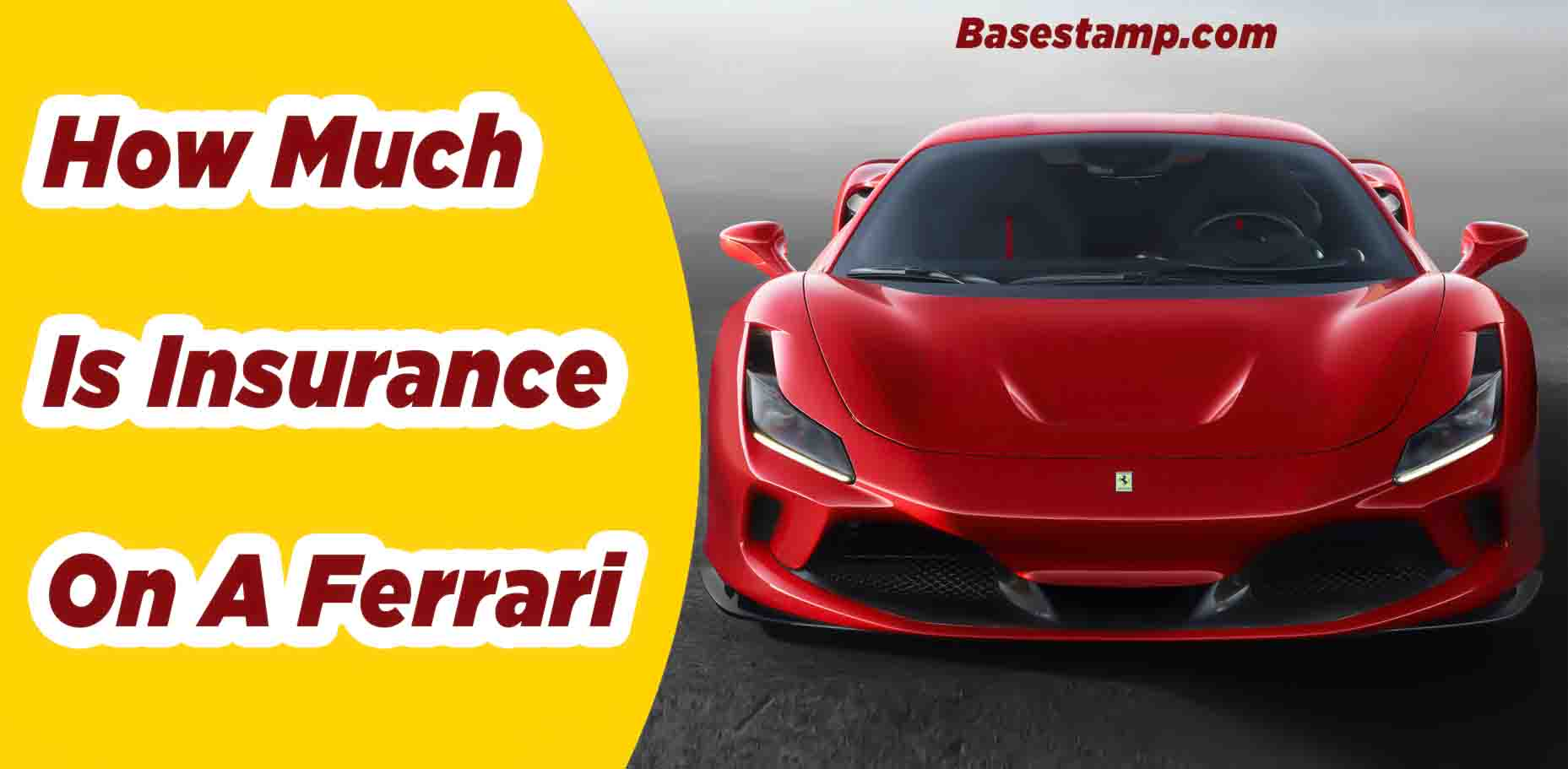 How Much Is Insurance On A Ferrari
