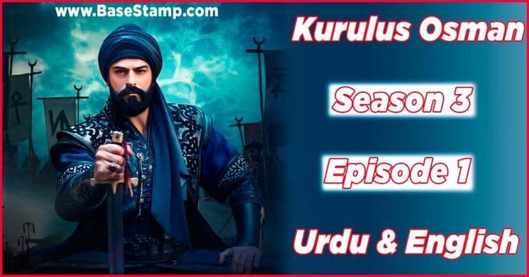 Kurulus Osman Season 3 Episode 65 (1) In Urdu & English Subtitles